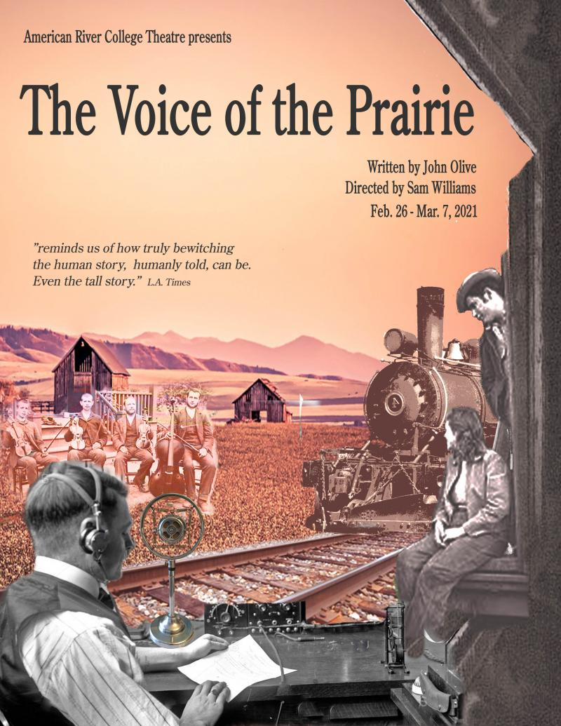 Voice of the Prairie - radio operator on the prairie